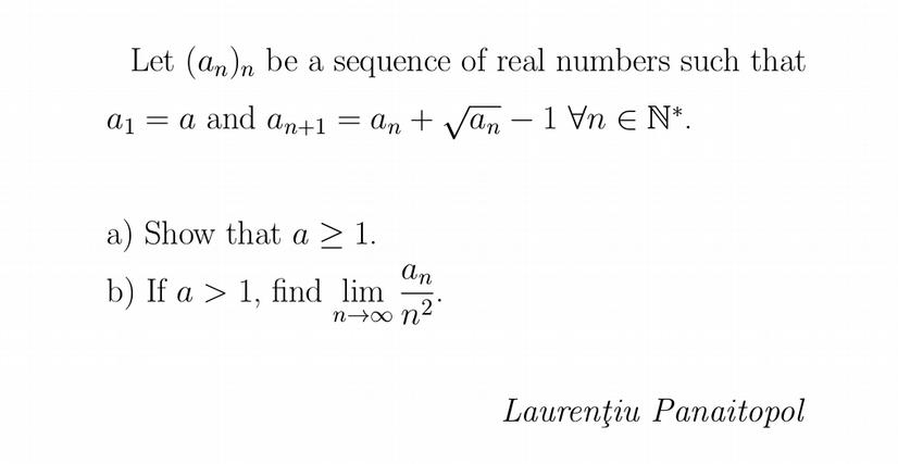 Recurrent sequence